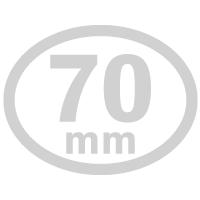 楕円形-70mm