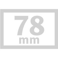 長方形-78mm