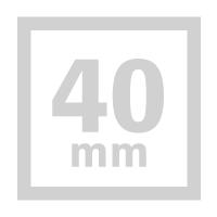 四角形-40mm