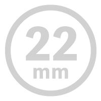 正円形-22mm