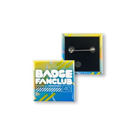 画像1: 缶バッジ | 40mm | 標準パーツ(ダブルフックピン) (1)