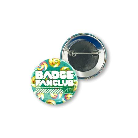 画像1: 缶バッジ | 44mm | 標準パーツ(ダブルフックピン) (1)