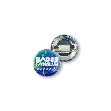 画像1: 缶バッジ | 32mm | 安全ピン(貼り付け型) (1)
