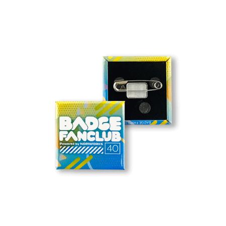 画像1: 缶バッジ | 40mm | 安全ピン(貼り付け型) (1)