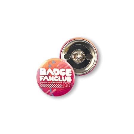 画像1: 缶バッジ | 38mm | ピンズ (1)