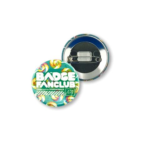 画像1: 缶バッジ | 44mm | 安全ピン(貼り付け型) (1)