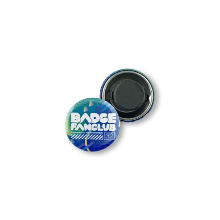 画像1: 缶バッジ | 32mm | マグネット(フェライト) (1)