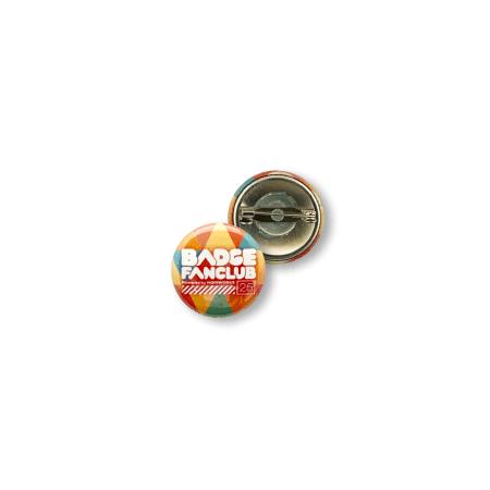 画像1: 缶バッジ | 25mm | 安全ピン(ブローチピン) (1)